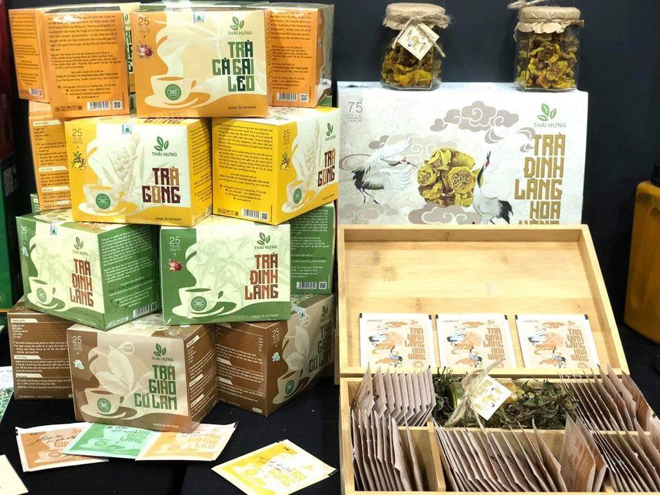Trà thảo dược Thái Hưng có những loại trà gì