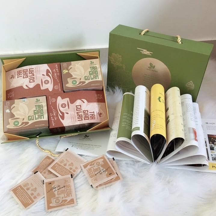 Quà tặng sếp, biếu thầy cô, ông bà, bố mẹ vợ chồng hoặc bạn bè thân Combo trà Thái Hưng