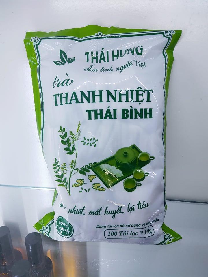 Trà túi lọc Thanh Nhiệt Thái Bình 100*10 gam (làm đại lý LH 0934449922)