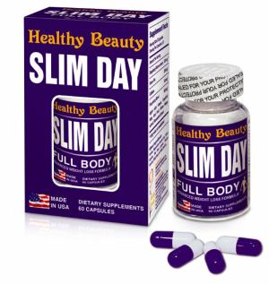 Thực phẩm hỗ trợ giảm cân Slim Day