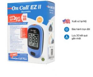 Máy đo đường huyết On-Call EZ II (ĐLý, CTV LH 09344449922)